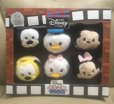 "New Authentic Disney Store 30th Anniversary 3"" Mini Tsum Tsum Box Set"