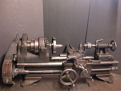 """8"""" JUNIOR SOUTH BEND METAL LATHE  MODEL No. 408-X WITH 30"""" BED"""
