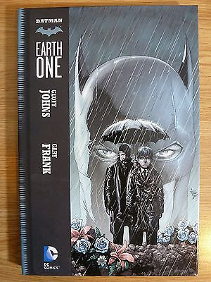 Batman: Earth One by Geoff Johns Hardback Graphic Novel