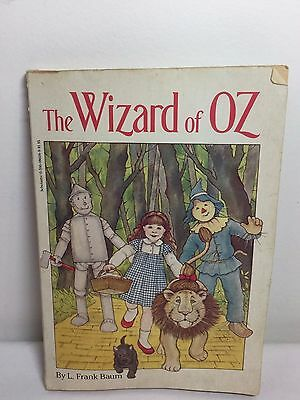 The Wizard of Oz by Frank Baum Paperback Book 1958