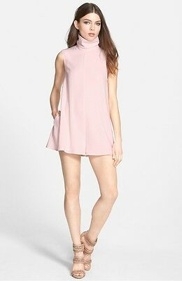 a39ca7364ea5 Keepsake Dark paradise Pale Pink High Neck Sleeveless Playsuit Romper 8 12  £105