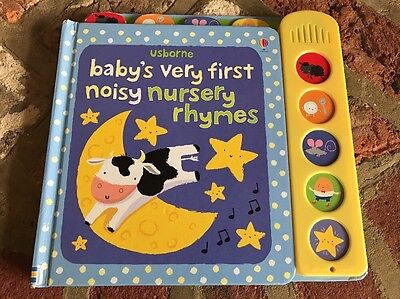 Baby's Very First Noisy Nursery Rhymes by Fiona Watt (Board book, 2012)