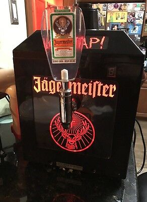 Jagermeister 3 Bottle Tap Chiller Tested Working By Jamus Man Cave Special