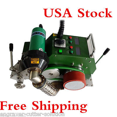 USA Stock*AC110V High Speed Hot Air Banner Welder with 30mm Welding Width