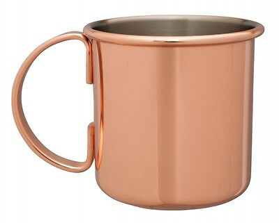 Mezclar Copper Plated Moscow Mule Cocktail Mug 500Ml