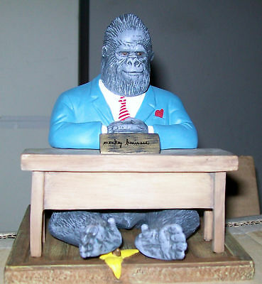 """Monkey Business"" Gorilla  Statue From Will Bullahs"
