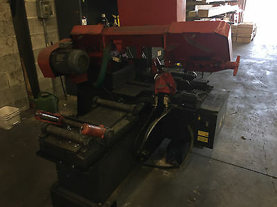 Amada HFA250W Automatic Horizontal Band Saw 10 inch x 10 inch Capacity