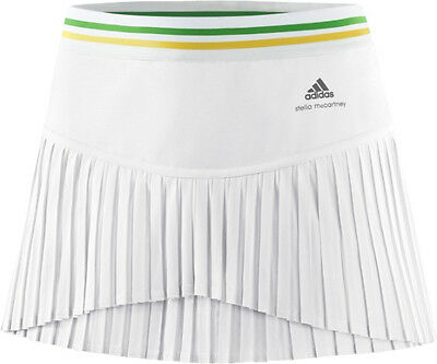 ADIDAS W ASMC BARRICADE SKORT STELLA MCCARTNEY ROCK TENNIS weiss