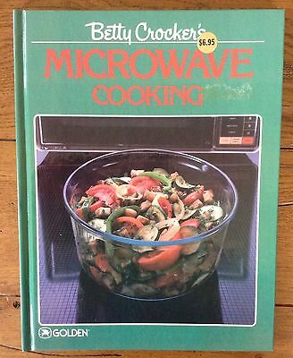 Betty Crocker's Microwave Cooking Cookbook Vintage cookbook from 1987 Like New