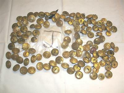 Job Lot Of British Army, British Military Buttons, Ww2 ,and Recent