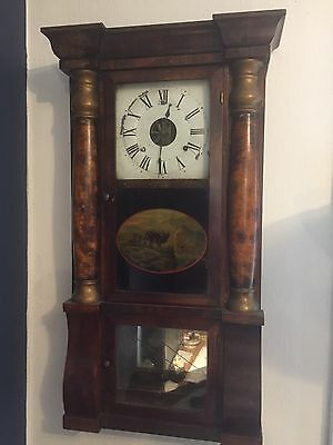 Antique Wall Clock Lovely Condition.