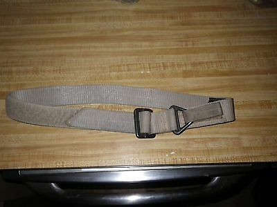SPEC.-OPS Brand HEAVY DUTY RIGGERS TACTICAL DESERT TAN BELT, Total Length 48""