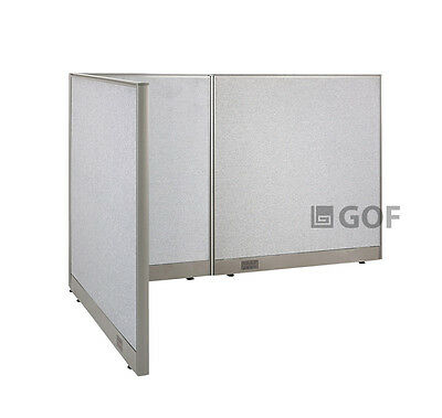 GOF L-Shaped Freestanding Partition 48D x 78W x 48H / Office, Room Divider