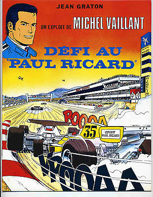 Graton 3 volumes circuit Paul Ricard  EO 1977-80 TBE