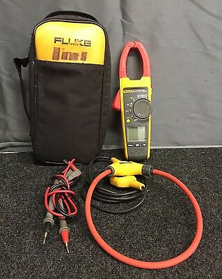 Fluke 376 True RMS Clamp AC/DC Meter with Leads and iFlex
