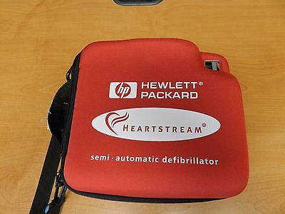 Philips HP Heartstream Semi Automatic AED with Battery, Pads, Case