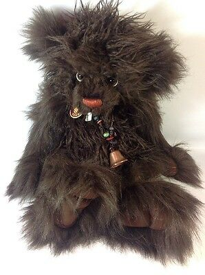 Charlie Bears VALENTINO Brand New With Tags 20 Inch Bear
