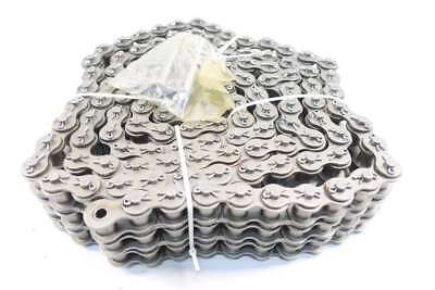 New Morse 80-3C 1 In 10Ft Triple Strands Cottered Roller Chain D559417