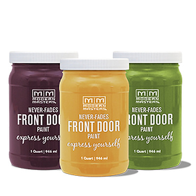 Modern Masters Front Door Paint - Never Fades - Free Expedited shipping!