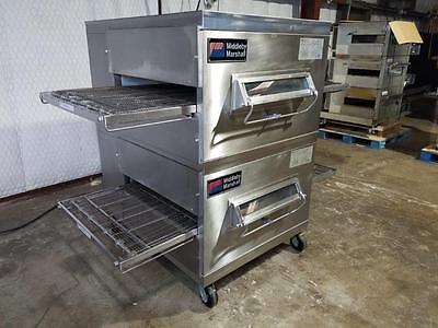 Middleby Marshall Ps200 Nat. Gas Conveyor Pizza Oven.....watch  Video Demo