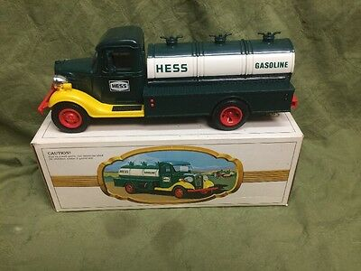 1982 Hess Truck. The First Hess Truck. Red Switch. New In Box.