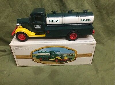 1983 Hess Truck. The First Hess Truck. Black Switch. New In Box.