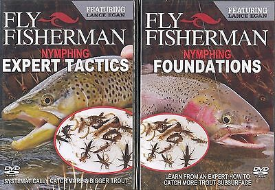 Fly Fisherman Nymphing Expert Tactics & Nymphing Foundations -  Lance Egan DVDs