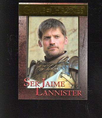 2017 Game of Thrones  season 6 GOLD FOIL PARALLEL card #32 serial 81/150