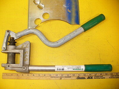 Greenlee Punch Sheet Metal Stud 710 Electrician Tool Electrical Contractor