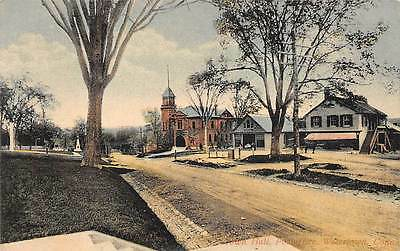 WATERTOWN, CT, TOWN HALL, POST OFFICE & STREET VIEW, SCHMELZER PUB #15 c 1907-14