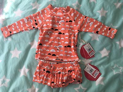 Sooki baby bathers / swimming togs two piece brand new with tags