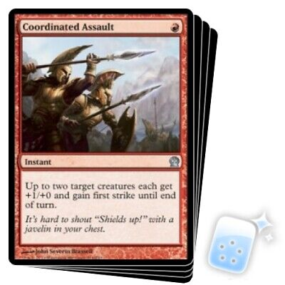 M-NM 4 Assault Formation Iconic Masters SPARROW MAGIC mtg 4x x4