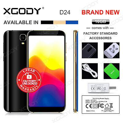 XGODY Unlocked 6.0'' Android 5.1 Cell phone 3G/GSM Smartphone Quad Core Dual SIM