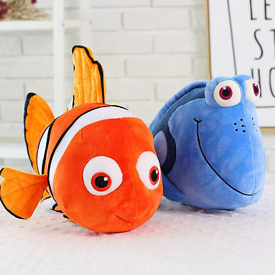 9''/15''Finding Nemo Cute Figures Stuffed Plush Soft Doll Children Baby Toy Gift