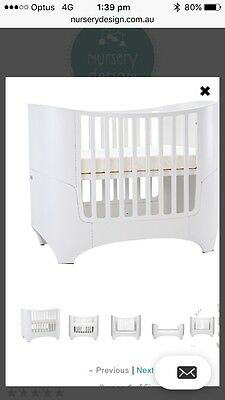 Leander Cot/bed In White