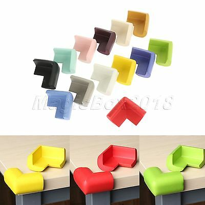 10pcs Corner Edge Furniture Protector Angle Soft Safety Protect Guard Child Baby