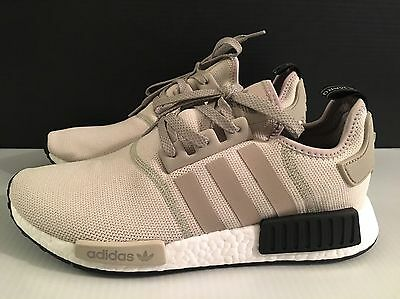 newest fa404 847ae ADIDAS NMD R1 Tan Cream Chalk Beige S76848 Size 8-13 DS 100% Authentic  LIMITED