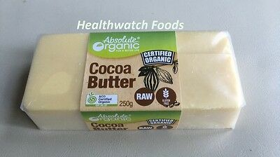 Absolute Organic Cocoa Butter 250g