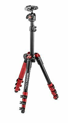 Manfrotto Befree One Aluminium Travel Tripod With Ball Head Red High Quality