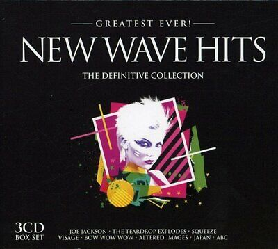 Various Artists - Greatest Ever New Wave Hits - Various Artists CD N6VG The The
