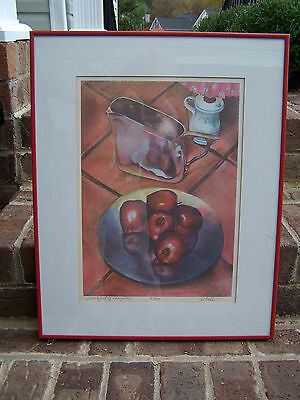 Vintage Limited Edition Signed Jon Reich Print 'Breakfast of Champions'