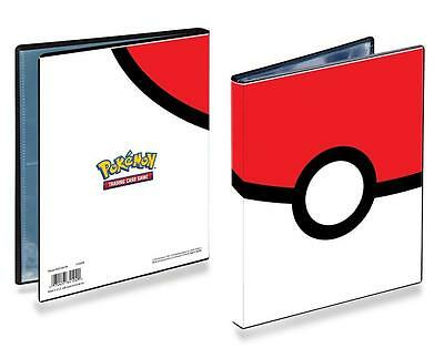 Ultra Pro - Pokeball Pokemon Portfolio Folder Binder Album 4 Pocket Pages