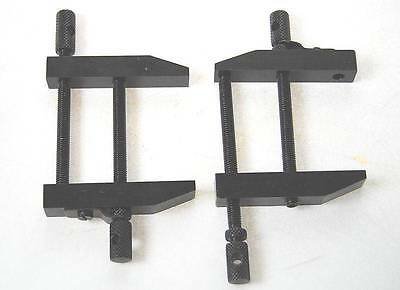 "Pair of 2 1/2"" Traditional Toolmakers Clamps - Soba Best Quality"