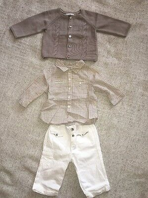 French DPAM Bebe Baby Boy Outfit 3 Months Occasion?