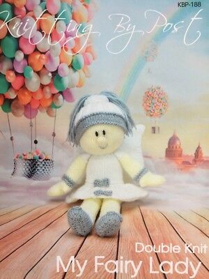Knitting By Post Fairy Lady Doll Knitting Pattern