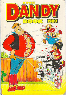 THE DANDY ANNUAL BOOK 1989 D C Thompson Korky Des Dan Replaced spine Collectable