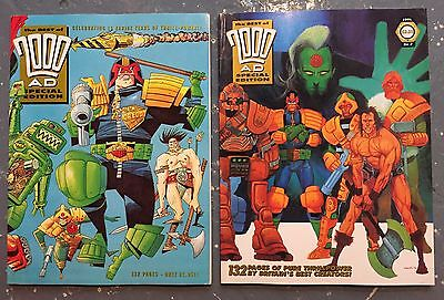 The BEST of 2000AD  ~ SPECIAL EDITIONS ~ Issues 1 & 2  ~ 1st Print 1993 / 1994