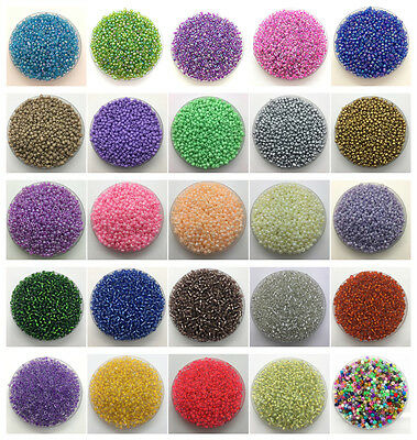 Wholesale 4mm 200pcs DIY Charm Czech Glass Seed Beads Craft Jewelry Making