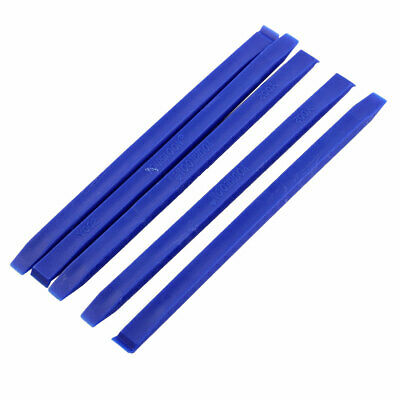 Cell Phone LCD Plastic Electronic Stick Spudger Opening Repair Tool Blue 5 Pcs