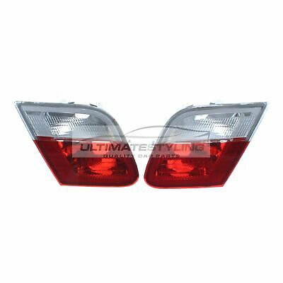 BMW 3 Series E46 2000-2003 Cabrio Inner Boot Rear Tail Light Pair Left & Right